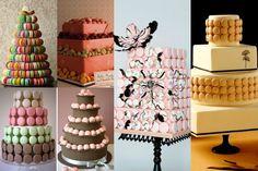 Credit: Martha Stewart, cherryblossomsandfaeriewings, The Knot, Cake Chooser, Brides.com