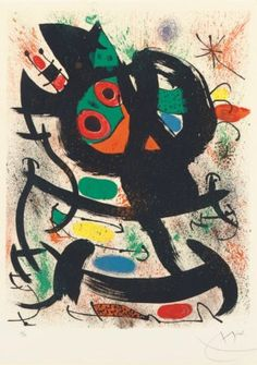 JOAN MIRO | Exhibition at the Pasadena Art Museum (M. 622) | 1960s, Prints & Multiples | Christie's