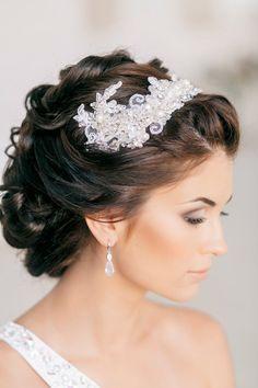 Idées de coiffures de mariage pour cheveux bruns | Tout pour mon mariage