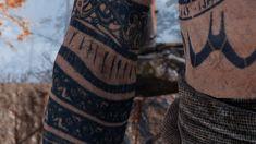 Tagged with godofwar, baldur; Shared by Baldur and most of his tattoos [God of War] War Tattoo, Rune Tattoo, Norse Tattoo, Maori Tattoos, Viking Tattoo Sleeve, Viking Tattoos, Sleeve Tattoos, Filipino Tribal Tattoos, Hawaiian Tribal Tattoos