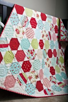 Lella Boutique--another of my niece's amazing quilts from her blog! I adore this one...