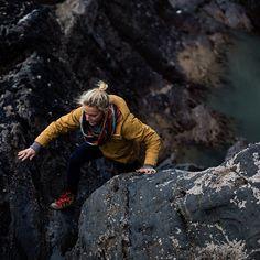 climbing, rocks, water, fall