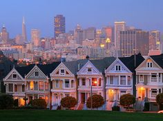 See the Painted Ladies in San Francisco's Haight-Ashbury neighborhood. Discover more with our #San Francisco #travel guide:  http://georama.com/#Explore/United-States/San-Francisco/Plan/Info