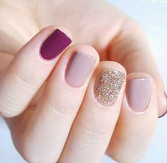 In seek out some nail designs and some ideas for your nails? Here's our set of must-try coffin acrylic nails for stylish women. Nail Design Glitter, Nails Design, Nagellack Design, Nails Polish, Gelish Nails, Dark Nails, Mauve Nails, Nail Swag, Super Nails