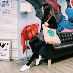 Meet Louisa – a graphic designer and food lover with insatiable wanderlust. In her global branding agency, she talks about her passion in design and nature. #laptopbag #tote #bag Laptop Tote Bag, Branding Agency, Wanderlust, Meet, Urban, Graphic Design, Hong Kong, Bags, Passion