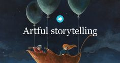 Storybird offers an easy way to create and publish illustrated and interactive digital stories.