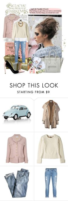"""""""My winter style 2013 II"""" by eiliana ❤ liked on Polyvore featuring Chanel, Victoria Beckham, Harrods, Isabel Marant, Piel Leather, Burberry, CÉLINE, J.Crew, Koral and Sachin + Babi"""