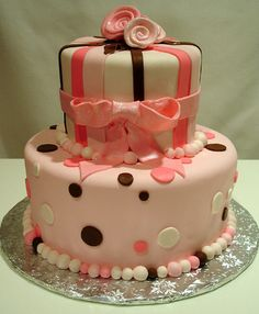 the perfect 1st Birthday cake for my little girl :)