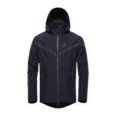 GORE-TEX® Pro Shell 3L Jacket – Black – FRONT – GJF6001