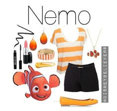 Nemo :) disney outfits :) by corina Disney Character Outfits, Cute Disney Outfits, Disney Themed Outfits, Disneyland Outfits, Character Inspired Outfits, Disney Dresses, Cute Outfits, Disney Bound Outfits Casual, Disney Clothes