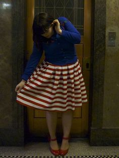 diy skirt from frocks n froufrou