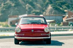 Shiny Red BMW 700 Coupe