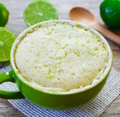 Lime Mug Cake | Kirbie's Cravings