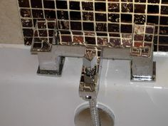 Contemporary square style taps add the finishing touch.  http://www.ppmsltd.co.uk