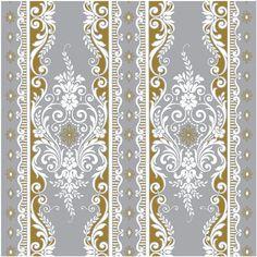 Ribbon Stripes Paper - Winter Wonderland - Anna Griffin