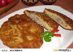 Ukrajinské bramboráky recept - TopRecepty.cz French Toast, Treats, Breakfast, Recipes, Food, Sweet Like Candy, Morning Coffee, Meal, Food Recipes