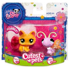 "Littlest Pet Shop Favorite Pets - Cat and Butterfly -  Hasbro - Toys""R""Us"