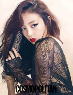 Goo Hara - Cosmopolitan Magazine August Issue '13