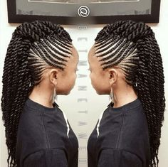 Bcl hairstyle older women hair color awesome,afro hairstyles short asymmetrical hairstyles choppy,medium bob hairstyles feather cut for oval face. Braided Mohawk Hairstyles, Mohawk Braid, African Braids Hairstyles, My Hairstyle, Twist Braids, Braided Mohawk Black Hair, Famous Hairstyles, Micro Braids, Twist Hair