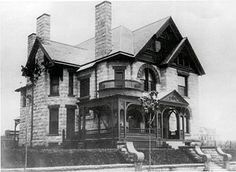 Molly Brown's house back when****