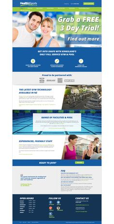 A Zeald Website has helped Health and Fitness (http://www.healthandsports.co.nz/) to achieve their business dream, visit www.zeald.com/Our+Work for more. The art and science of good #websitedesign #website #websiteredesign #webdesign #designinsperation #rethinkyourwebsite #layout #redesign #redesignideas #redesigninspiration #creative #landingpages #beforeafter #responsive #leadgeneration #travel #wordpress #leadgen #accomodation #technology