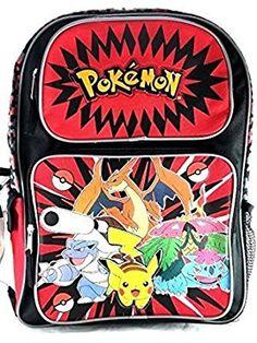 "Backpack 16"" Pokemon"