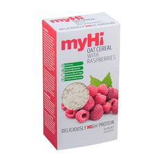 myHi Instant Oat Cereal With Raspberries