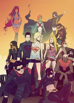 Ready batgirl cali logan superheroine in peril sorry