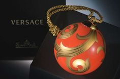 Versace Home Christmas #DIY #Christmas #Ornaments