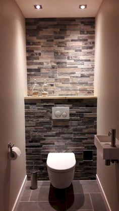 Awesome Interior Design Ideas for Small Spaces Bathroom toilets bathroom interior Space Saving Toilet Design for Small Bathroom met #BathroomIdeas Small Toilet Design, Small Toilet Room, Small Space Bathroom, Bathroom Design Small, Bathroom Interior Design, Small Spaces, Bedroom Small, Small Bathrooms, Bathroom Designs
