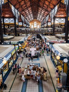 The central covered market in Budapest  #HDR #Budapest