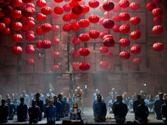 Turandot (Puccini) | Northern Ireland Opera #opera #set #design