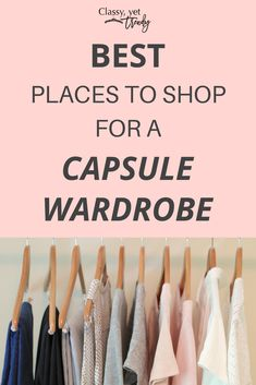 Best Places To Shop For A Capsule Wardrobe + New Jewelry (TW  121 e9e0dce83f