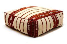 Tribal pillow Stunning Ottoman Moroccan by Beniouraincarpets