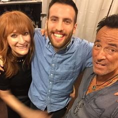 Patti Scialfa, Evan, Bruce Springsteen - After MSG, NYC