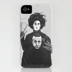 Bored With My Old Hairstyle iPhone Case  by Fathi at Society6