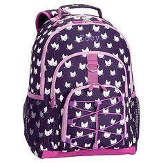 Gear-Up Dark Purple Kitten Backpack