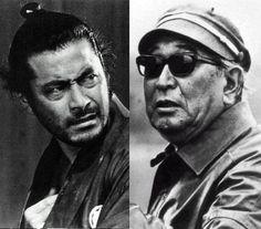 Akira Kurosawa & Toshiro Mifune