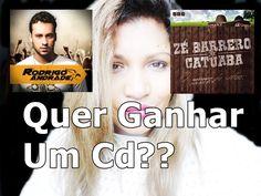 SORTEIO#CD Rodrigo Andrade+ Zé Barreiro e Catuaba#Quer Ganhar?