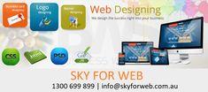 Sky For Web is best company of Web Design Melbourne Website Design Company, Seo Services, Business Card Logo, Good Company, Online Marketing, Design Projects, Melbourne, Web Design, Banner