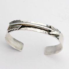 Richard Schmidt Jewelry Design Arrow Cuff in Sterling Silver   eBay #americanmadeebaysweeps