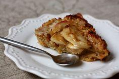 ferske(n)muffins: Karamellisert eplekake.
