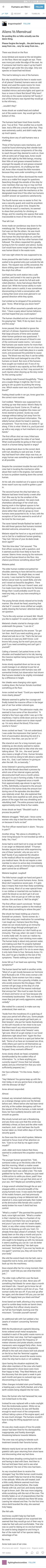 Humans are Weird: Menstruation