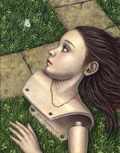 LITTLE GARDEN | Shiori Matsumoto ノスタルジックな少女たちの世界を描く松本潮里の絵画作品集