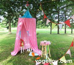 Love this adorable spray tan tent!