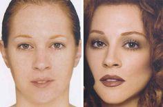 17 fotos incríveis que mostram o poder da maquiagem