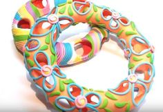 How to Use Toilet Paper to Make Hollow Polymer Clay Jewelry