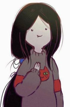 Marceline from Adventure Time. :) So kawaii. Cartoon Adventure Time, Art Adventure Time, Adventure Time Drawings, Adventure Time Wallpaper, Adventure Time Characters, Adventure Time Marceline, Adventure Time Vampire, Adventure Time Princesses, Cartoon Wallpaper