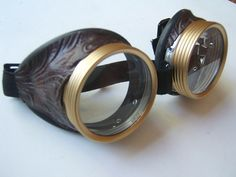 Steampunk Goggles  Bioshock Glasses -  Burning man - sale special - free priority shipping. on Etsy, $29.99