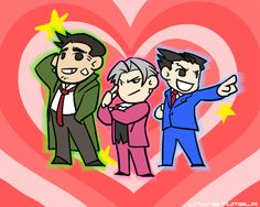 OMFG I LOVE THIS! <3  Phoenix Wright FTW